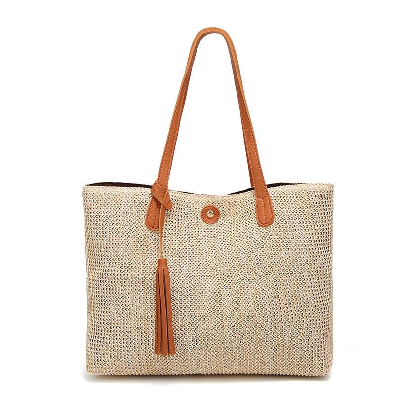 Women's Summer Shoulder Bag Fashion Casual Tote Handbag Outdoor Travel Bag