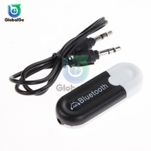 Bluetooth 4,0 receptor de Audio transmisor Mini estéreo Bluetooth USB 3,5mm Jack para TV equipo de coche adaptador inalámbrico