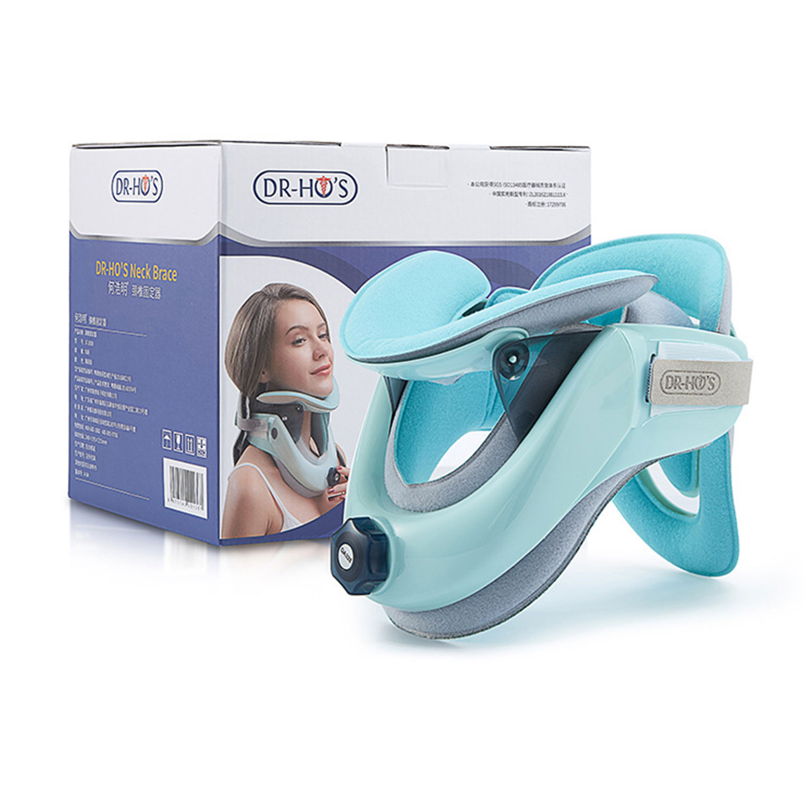 Медицинское устройство для вытягивания шеи, Корректор осанки, шейный воротник, шейный воротник, брекеты для шеи, забота о здоровье, поддержк...