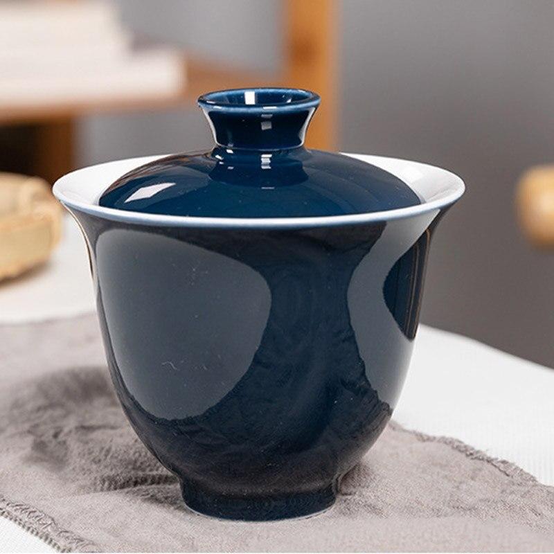 طقم شاي سفر محمول طقم شاي من السيراميك طقم شاي مع حقيبة سفر محمولة للمنزل حفلة مكتب TT-best
