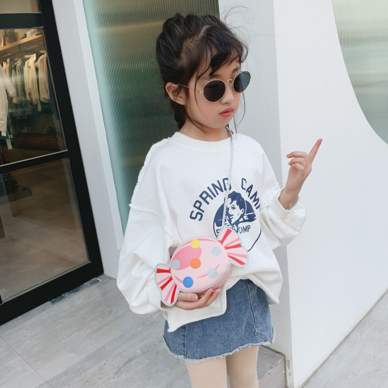 Monedero pequeño adorable para niños, monedero Kawaii para niñas pequeñas con dulces y monedas