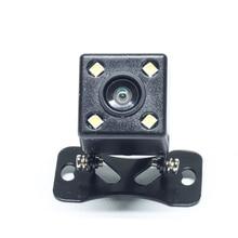 Josmile Car Rear View Camera Universal Backup Parking Camera 4 LED Night Vision Waterproof 170 Wide Angle HD Color Image