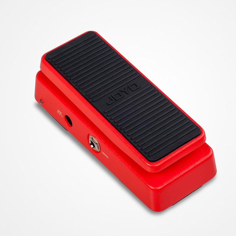 JOYO Wah-II Pedal Volume Pedal Mini Portable Guitar Pedals Multi functional WAH Guitar Parts Accessories
