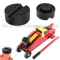 car general purpose floor slotted car rubber jack pad frame protector adapter jacking tool clamp welding side lifting plate
