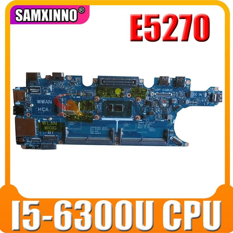 Akemy لديل خط العرض E5270 اللوحة المحمول CN-0DV5YH 0DV5YH DV5YH I5-6300U CPU 2.40 GHz DV5YH LA-C621P