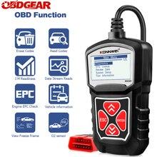 Автомобильный сканер KONNWEI KW309 Obd2, Автомобильный сканер, анализатор двигателя, автомобильные инструменты, полный OBD 2 EOBD считыватель кодов, автомобильный диагностический инструмент