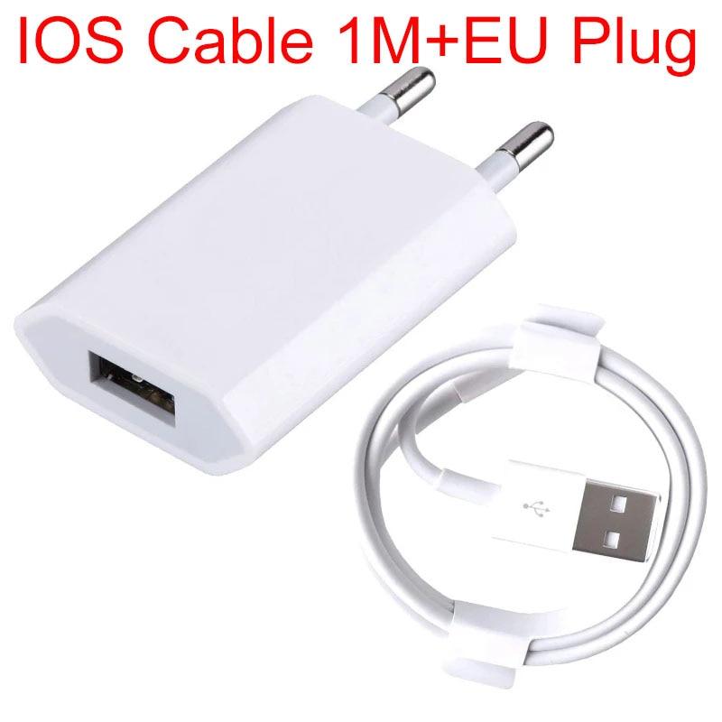 Yaeatype 1m Cable de datos de carga USB para iPhone 6S 6...