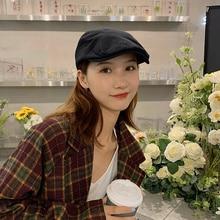 Hat Female Korean Fashionmonger All-Match Japanese Artistic Beret Casual Retro Advance Hats Fashion