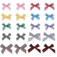 1 set bowknot yarn hat handmade woven costume accessories mixed color for diy jewelry making earrings crafts decor
