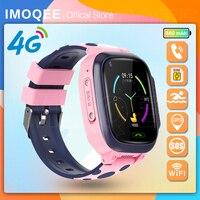 Детские Смарт-часы Y95, водонепроницаемые Смарт-часы с GPS, 4G, Wi-Fi, Sim-картой, фото, IP67, подарок для детей, для IOS, Android, 2021,Раннее образование,голо...