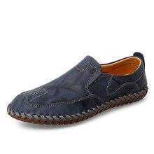 Zapatos Hombre Men Shoes Genuine Leather Comfortable Men Casual Shoes Footwear Chaussures Flats Men