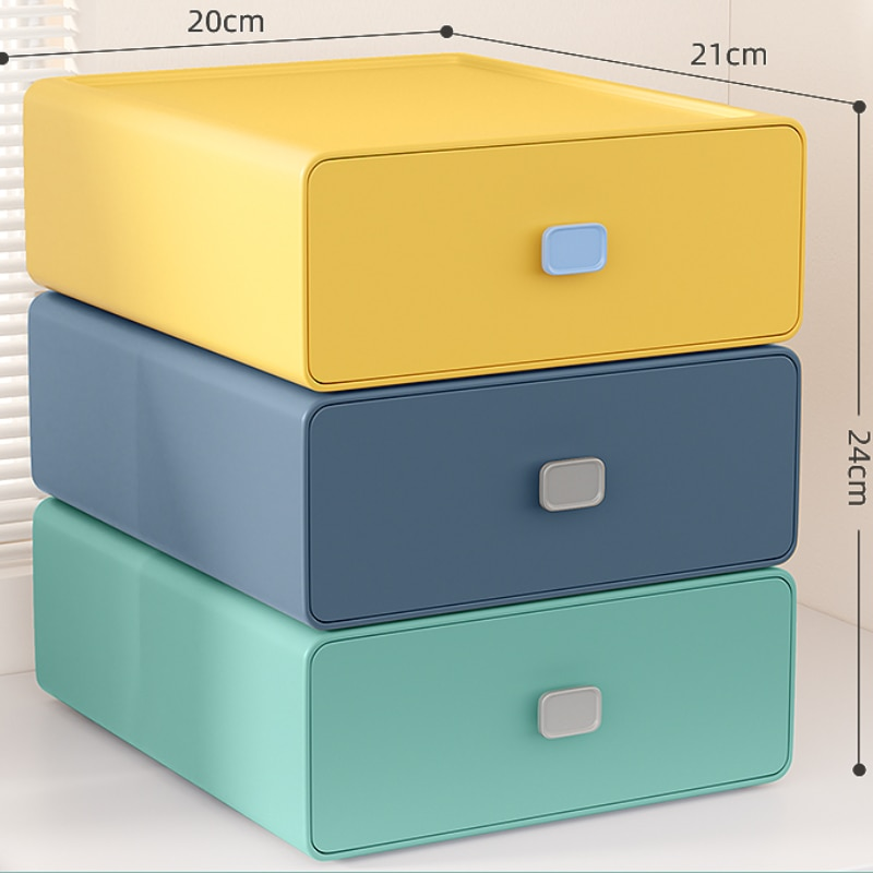 zq Drawer Desktop Storage Box Cosmetics Stationery Organizing Box Desk Shelf home desk storage box tea table remote control cd stationery cosmetics leather pu leather holder desktop cosmetics makeup storag