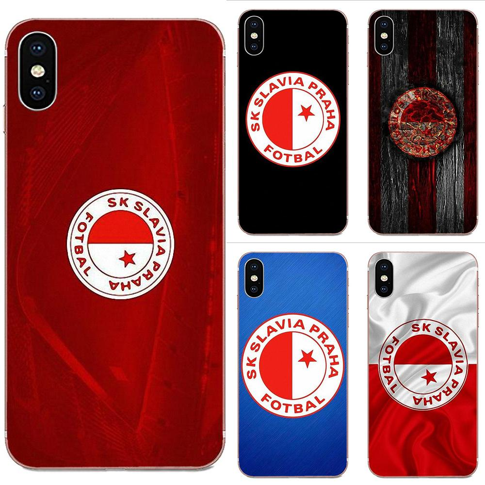 Sk Slavia Praha Sports Cute Phone Case For Samsung Galaxy Note 8 9 10 Pro S4 S5 S6 S7 S8 S9 S10 S11 S11E S20 Edge Plus Ultra