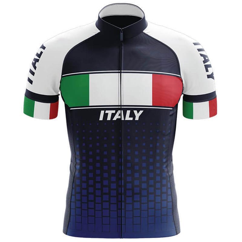 Italia verano Jerseys de Ciclismo hombres Ropa de bicicleta de montaña Maillot Ropa de Ciclismo de carreras Ropa de Ciclismo
