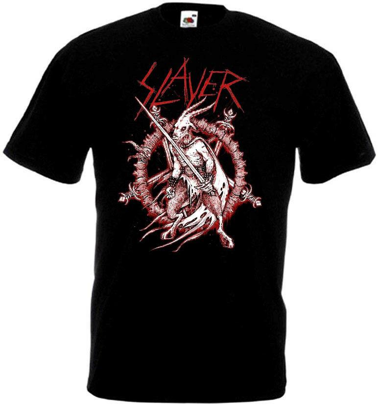 Póster Slayer V2 camiseta negra basura Heavy Metal todas las tallas S 5Xl