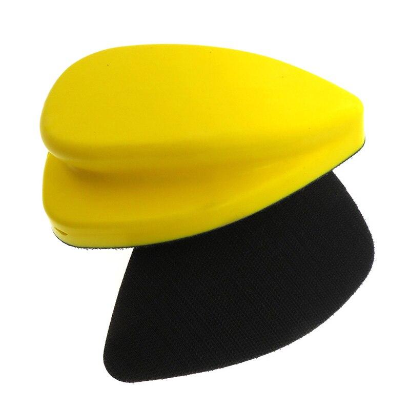 Полировальный диск для мыши, ручной самоклеящийся флок из экокожи, с резиновой ручкой