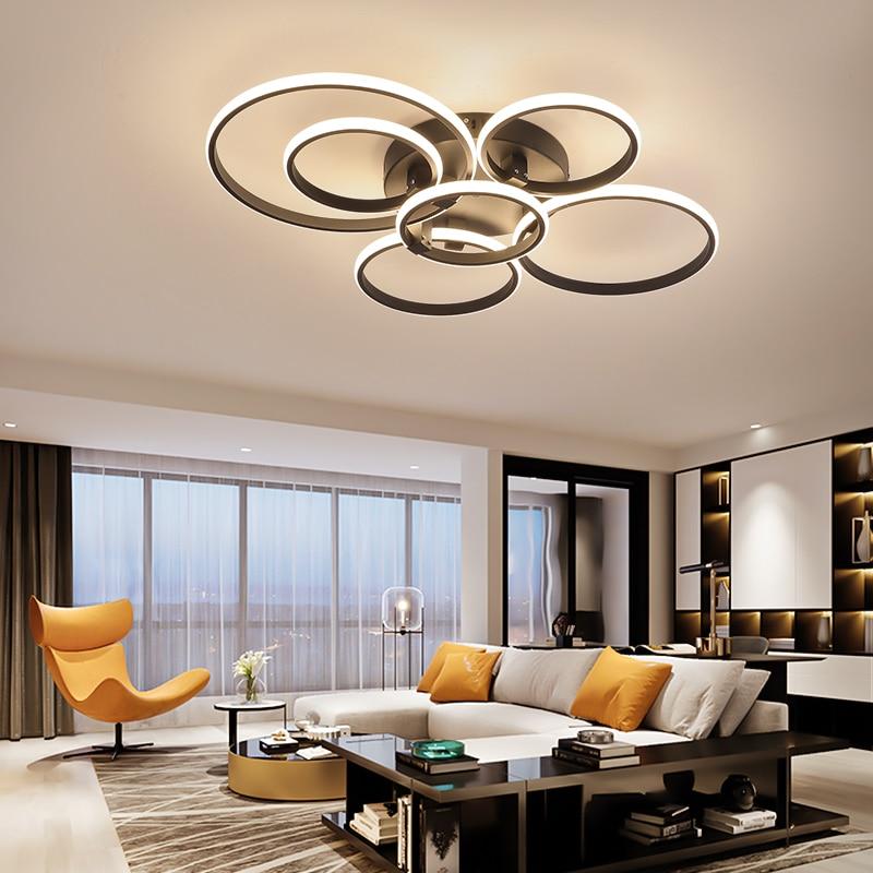 NEO Gleam-مصباح سقف led على شكل حلقة ، تصميم حديث ، شدة إضاءة قابلة للتعديل عبر تطبيق RC ، مثالي لغرفة المعيشة أو غرفة النوم.