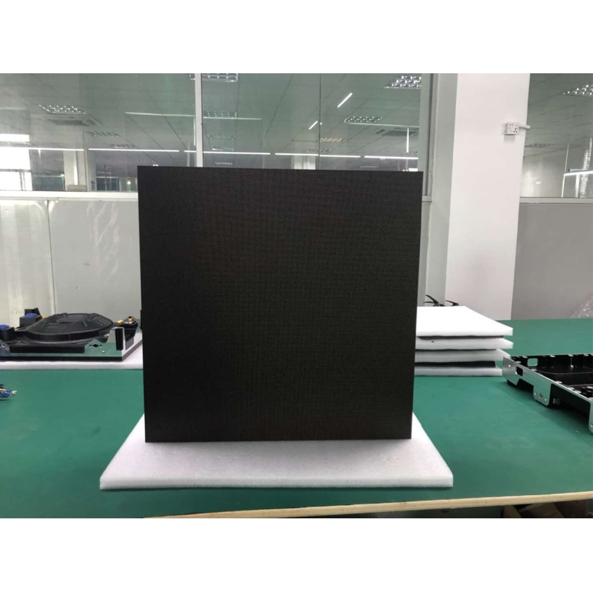 fine quality p2 5 indoor smd full color led module 1 32 scan 160x160mm 64x64 pixels hd video screen wall Indoor advertising P2 SMD Full Color LED Module 128*128mm 64*64pixels 1/32Scan HD led panel for led display screen