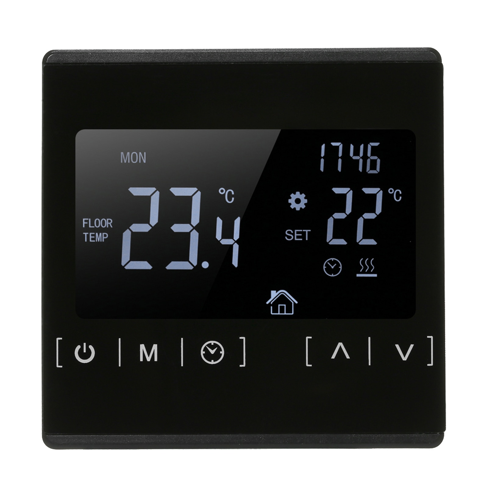 LCD Touch Screen Thermostat Electric Floor Heating System Water Heating Thermoregulator AC85-240V Temperature Controller wifi temperature regulator heating thermostat digital lcd touch screen temperature controller thermoregulator with alexa home