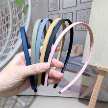 Bandeau coréen coloré pour femmes, 1 pièce, gommage de cheveux, Vintage, acrylique, accessoires pour cheveux, pour filles, nouvelle collection