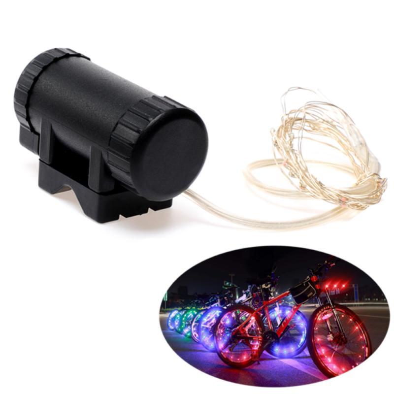 Cycling Rim Wheel Lights  Bike Light Spoke Flash Spoke Flash Lamp 20 LED Bicycle Illuminating Tire Tape Bicycle Accessories