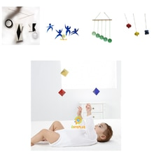 5 Sets Classic Montessori Mobiles Visual Senses and Focus Exercises Baby Toys 0-12 Months Early Educ