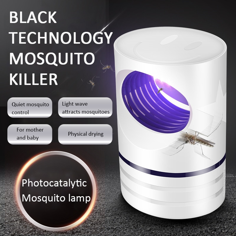 Led Mosquito Killer Lamp UV Night Light USB Insect Killer Bug Mosquito Trap Lantern Repellent Lamp