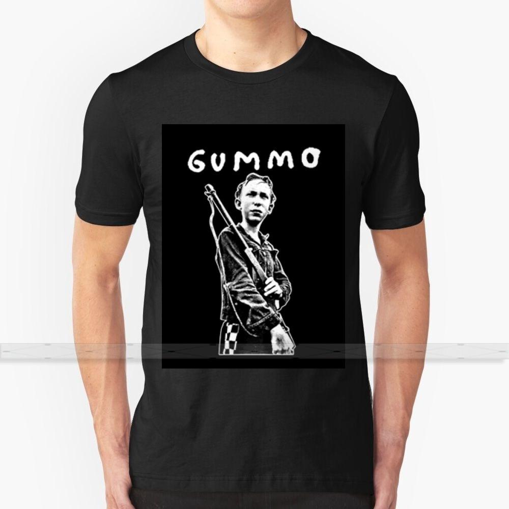 Camiseta GUMMO boy para hombres y mujeres, camisetas de verano de algodón, camisetas de talla grande 5xl 6xl gummo gun