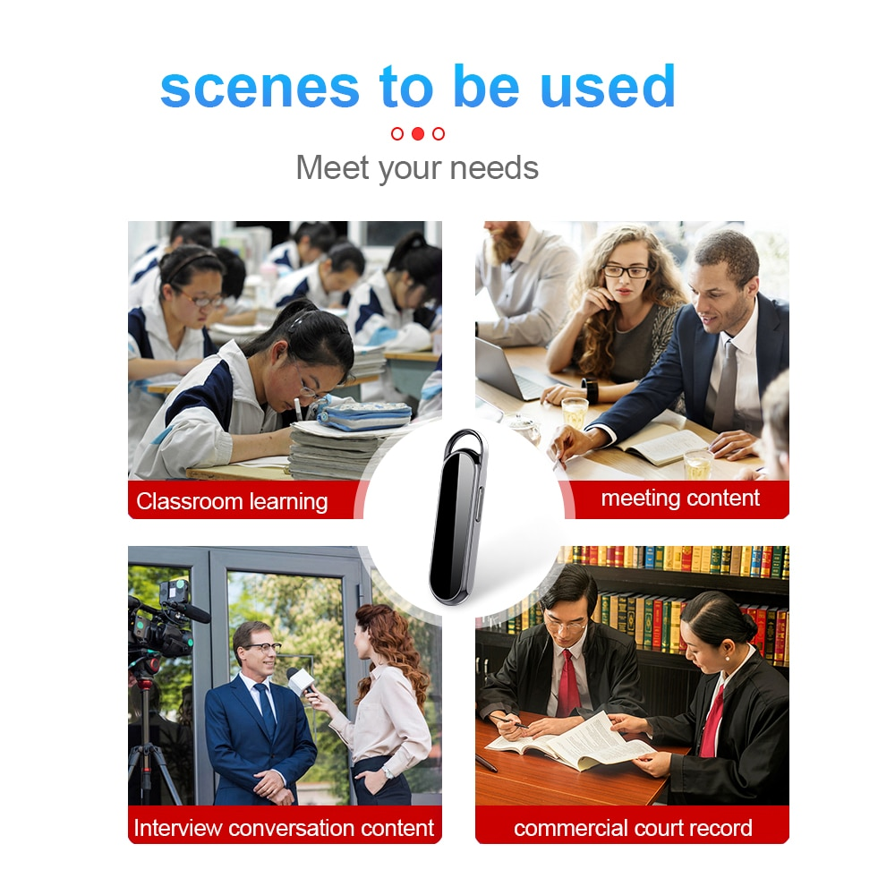 2021New Hot-selling Full HD 1080p Mini Camcorder Camcorder Awesome Video Recorder Wearable Portable Outdoor Photography DV 256GB enlarge