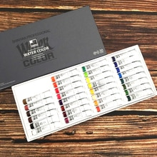 South Korea Imported Shinhan Transparent Watercolor Paint 8ml 30 Color Set Acuarelas Profesionales�