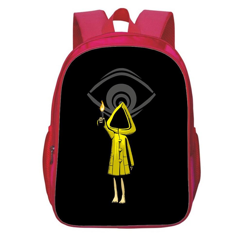 Рюкзак для девочек с принтом игра маленький кошмарный Рюкзак Для Путешествий Рюкзак для подростков рюкзак для косплея