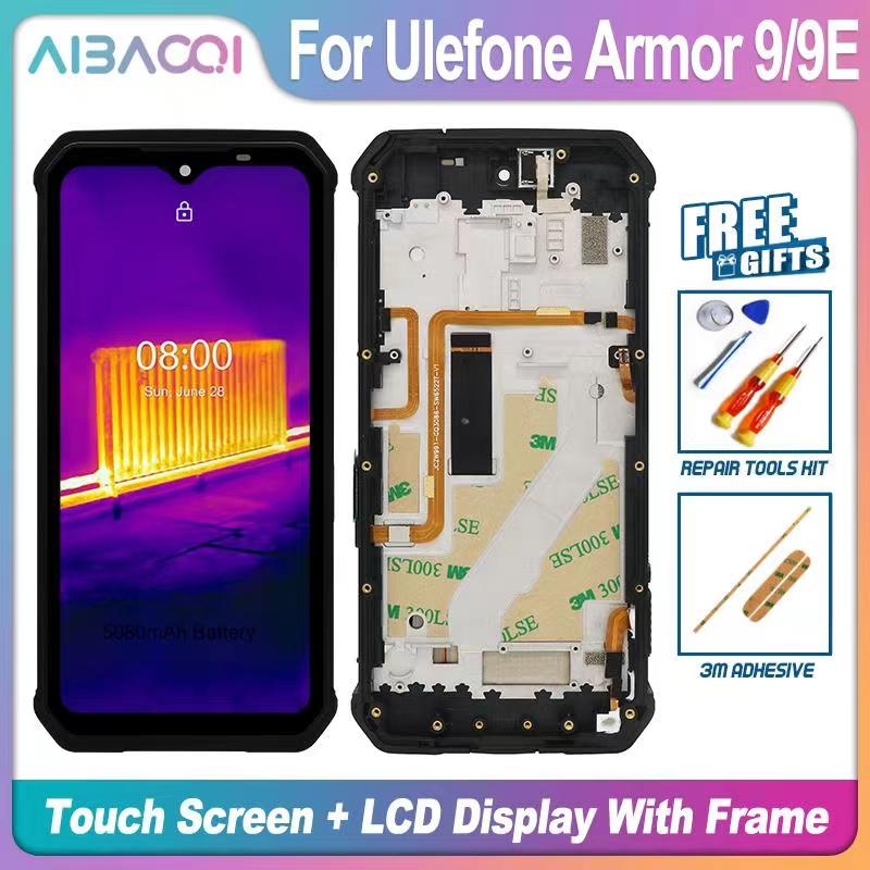 New Touch Screen+2340X1080 LCD Display+Frame Assembly Replacement For Ulefone Armor 10 Armor 9 9E Android 10 Phone