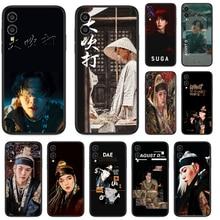 Agust D SUGA coque de téléphone pour Huawei Honor 10 10i 20 6A 7A 7C 8 8A 8X 9 9X Play View 20 Lite Pro Etui noir mode prime tpu