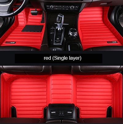 Alfombrilla de cuero personalizada para el suelo del coche para el diseño de 5Dcar de la Escalade de la escalera del coche de los ATS CTS XTS SRX SLS