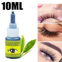 10ml eyelash extension glue quickily drying dark black waterproof lasting adhesive false eyelashes glue lashes makeup tools