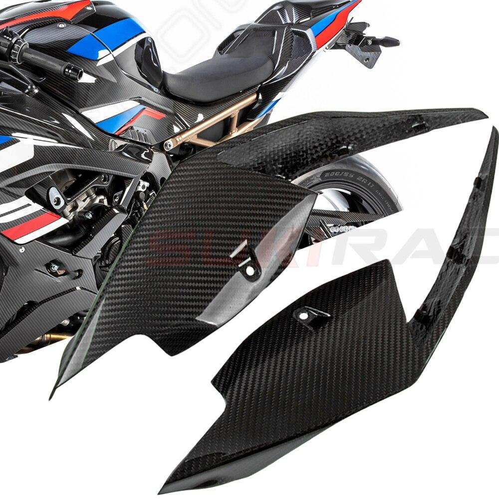 S1000RR S 1000 RR 2019 2020 2021 أجزاء دراجات من ألياف الكربون الخلفية مقعد الجانب لوحة ل BMW S1000RR S 1000 RR S1000 RR 2019 2020 2021