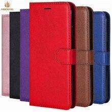หรูหราเรียบง่ายกระเป๋าสตางค์หนังสำหรับiPhone 11 Pro X XS Max XR 6 6S 7 8 Plus 5 5S SEผู้ถือช่องใส่การ์ดฝาพับกระเป๋า