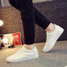Hommes chaussures décontractées offre spéciale noir/blanc toile chaussures hommes baskets mode nouveau à lacets grande taille chaussures pour hommes Zapatilla Hombre