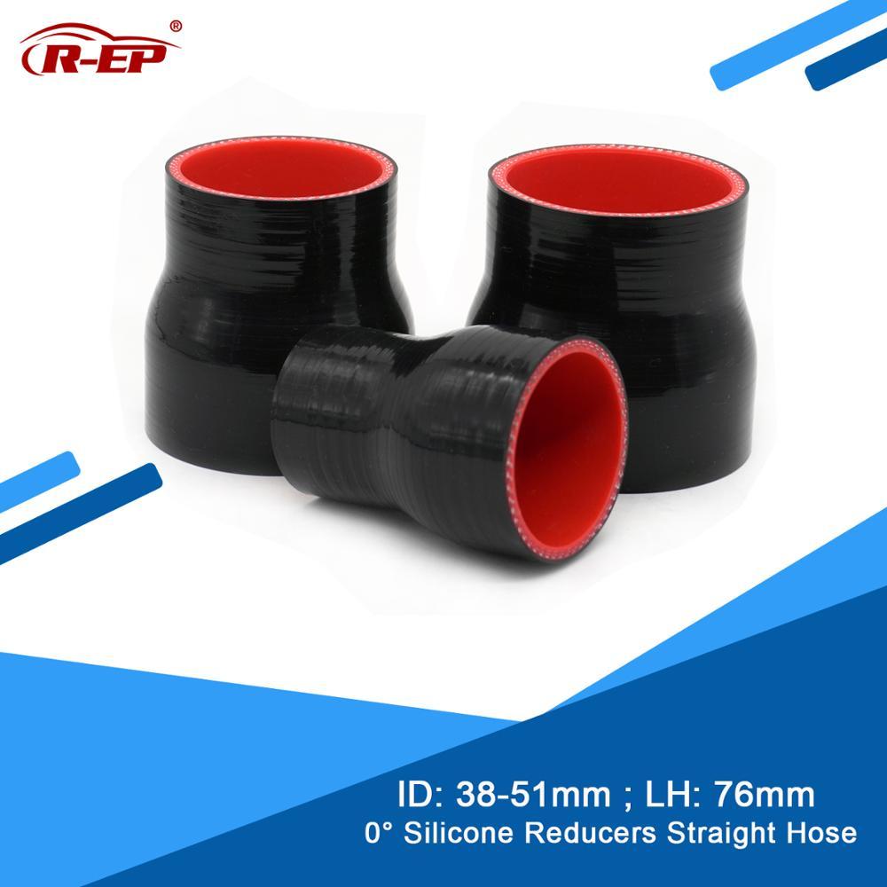 R-EP reductor de 0 grados, tubo/manguera de silicona recta de 38-51MM, tubo de entrada de aire frío, tubo de entrada de aire, nuevo tubo de radiador de silicona