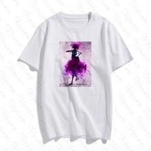 Élégant Danseur Tshirt Femmes Punk Esthétique Gothique Style Coréen Kawaii Tumblr Manches Courtes grande taille Coton Streetwear top t-shirts