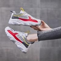 dad shoes 2021 new autumn new korean style student leisure sports shoes womens fashion trend thick soled running shoes