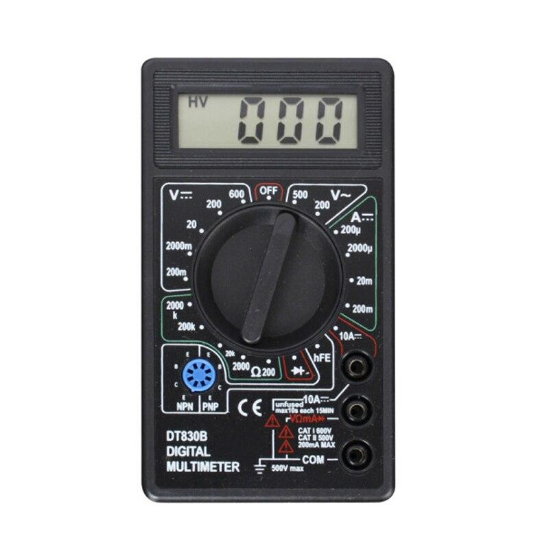 Tomada de fábrica atacado DT-830B mini multímetro digital venda quente ac dc bolso multimetro multi resistência medidor