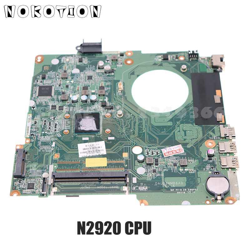 NOKOTION 792575-501 792575-001 DAU88MMB6A0 U88 ل HP بافيليون 15 15-F اللوحة المحمول N2920 وحدة المعالجة المركزية