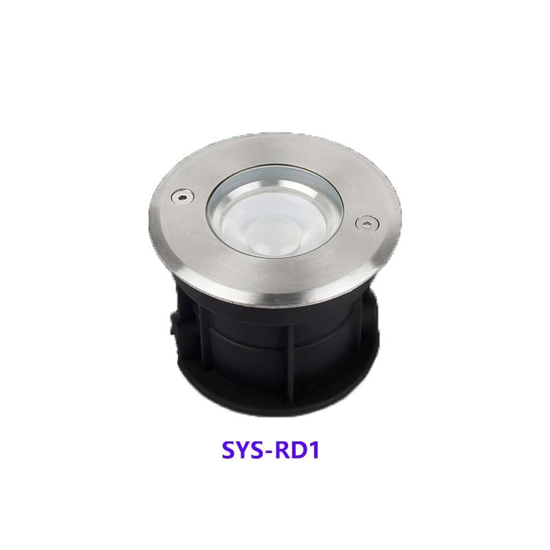 Milight 5W RGB + CCT LED luz subterránea SYS-RD1 lámpara submarina lámpara de decoración al aire libre APP/WIFI/Amazon Control de voz