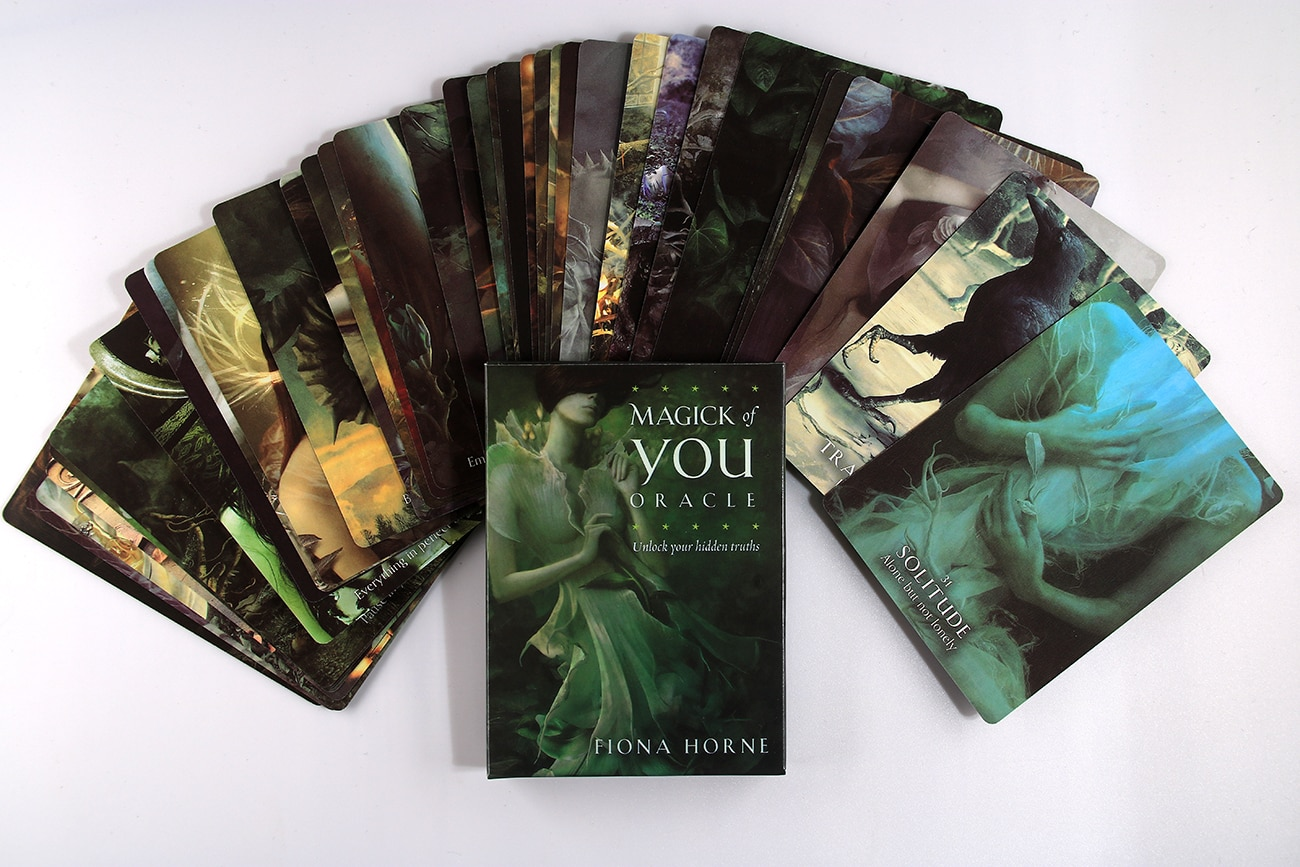 Magick of You Oracle: Unlock Your Hidden Truths Oracle Card Playing Tarot Card Games
