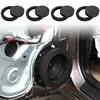 Vendita calda 4 pezzi 6.5 ''anello per altoparlanti per auto Bass Door Trim isolamento acustico accessori in cotone nuovo e di alta qualità