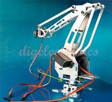 RC Metal Manipulator 6 DOF Robot Arm Model With Digital Servo 6-Axis Robotic Kit for DIY Industrial Robot Arm Development