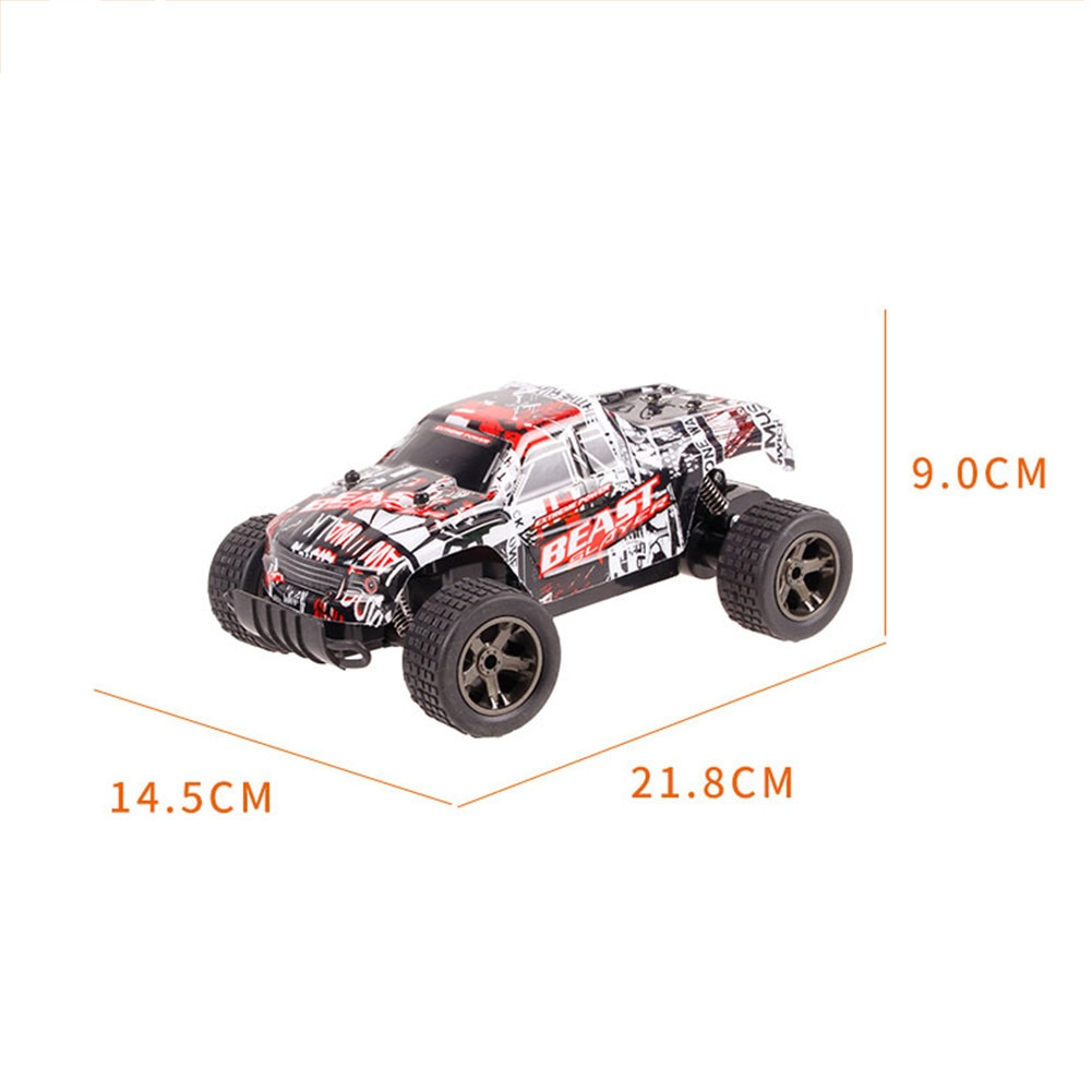 1:20 RC Racing Car Electric 2.4Ghz High-speed Competitive Remote Control Car Shatterproof Simulated Charging Off-road Vehicle enlarge