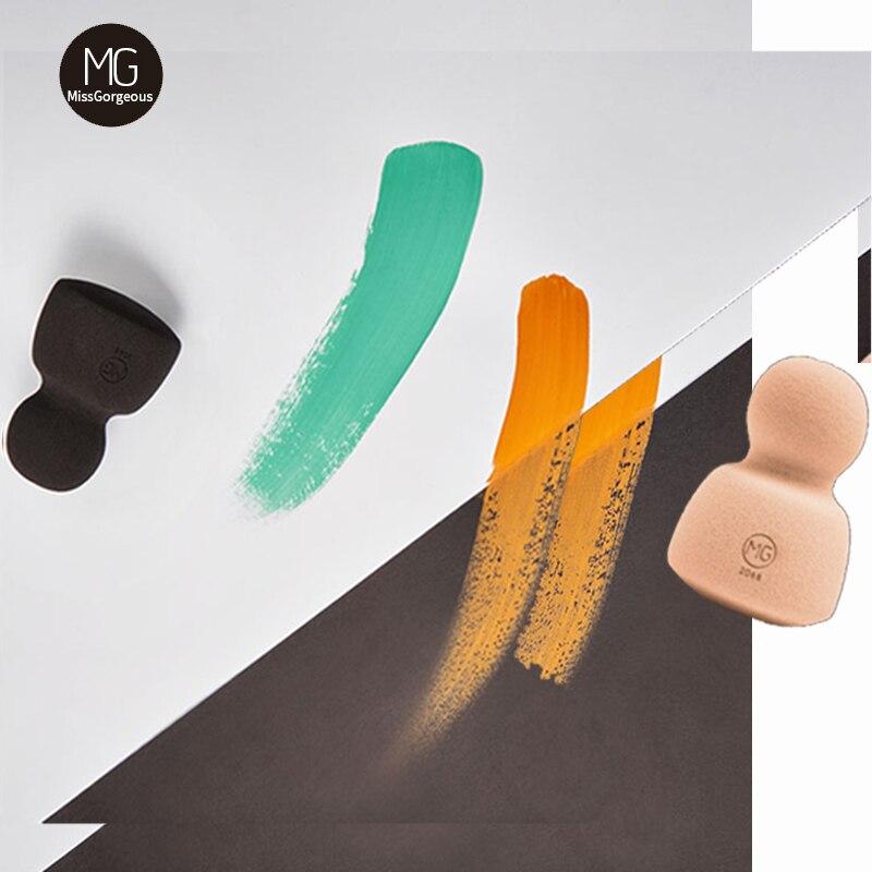 Miss Gorgeous-Juego de esponjas de maquillaje, Belleza, base correctora en seco y...