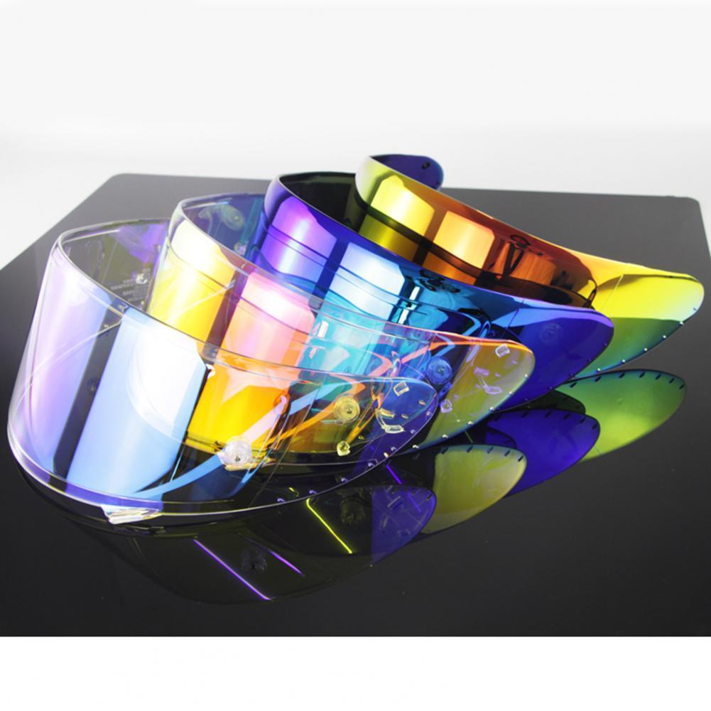 2021 New 60% Dropshipping!!Helmet Visor Face Protector Anti UV Bright Luster Motorcycle Helmet Lens for X14,Z7, Z-7, CWR-1, RF-1